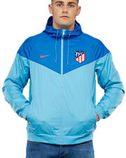 Atletico Madrid Nike Giacca Sportiva Sport Jacket Windrunner 2018 19 Blu