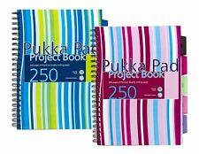 PUKKA PAD A4 PROJECT BOOK NOTEBOOK ORGANISER WITH FIVE DIVIDERS - PROBA4