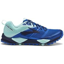 Brooks Cascadia 12 Womens Trail Running Shoes, Blue