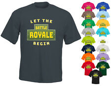 Battle Royale T-Shirt Boys Girls Kids Fortnite Tee Fortnight Top Ages 5 To 14