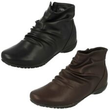 mujer Down To Earth Cremallera Botines Casuales