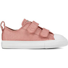 Converse Chuck Taylor All Star 2V Fairy Dust Ox Ruggine Rosa Tessile Bambino