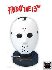 Jason Voorhees Fancy Dress Costume White Hockey Mask Friday 13th Halloween New