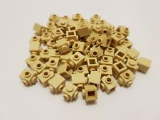LEGO 26604 Tan Brick, Modified 1 x 1 with Studs on 2 Sides, Adjacent