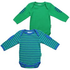 Toby Tiger Organic Cotton Blue & Green T-Shirt Pack of 2