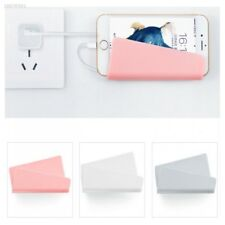 Phone Wall Charger Hanging Holder Stand Bracket Charge Hanger Rack Shelf D760B62