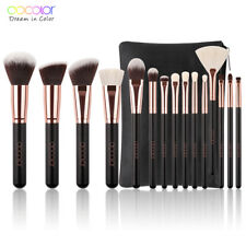 Women Make Up Brushes Set Face Powder Blush Synthetic Goat Hair Artist Brush Kit