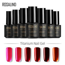 Nail Glitter Titanium Nail Gel Polish Soak Off UV LED Semi Permanent Nails Paint
