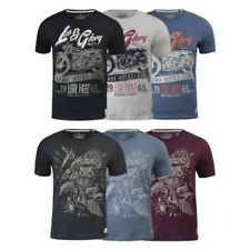 T-SHIRT UOMO LIFE AND GLORY manica corta ILLUSTRATO VINTAGE t-shirt top
