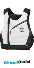 2018 Crewsaver Junior Pro 50N Chest Zip Buoyancy Aid White 2631J