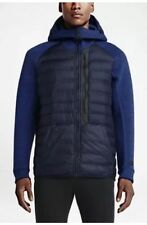 NIKE TECH FLEECE AEROLOFT water-repellent 800 DOWN HOODIE JACKET Men's Size L