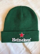 Heineken Official Green Beanie / Wooley Hat - New - One Size Fits All - Skater