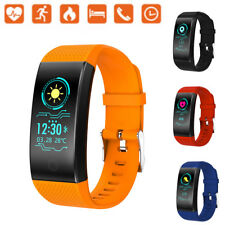Smart Watch Wristband Bracelet Fitness Tracker Blood Pressure Heart Rate Monitor