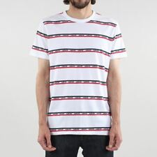 Levis® Men's New Mission Sportswear Short Sleeve T-shirt White Red Blue