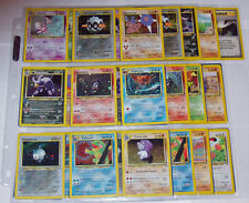 Neo Discovery Pokemon Card Set /75 Cards - Good Condition - Pick A Card