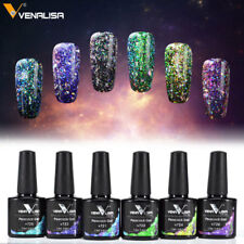 Peacock Nail Polish Gel Lacquer Soak Off UV LED Nail Paint Glitter Shiny Sticker