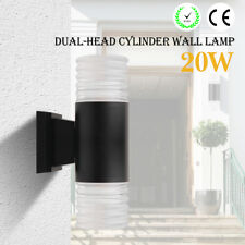 Dual Up Down Outdoor Security Light Porch Outside House Porch Garden Wall Door