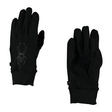 Gants De Ski Spyder Stretch Fleece Conduct Black