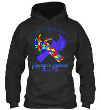 Aspergers Syndrome Awareness - I Love Someone With Standard College Hoodie