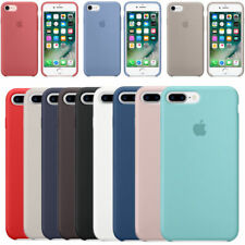 Genuine silicona Funda para i Phone 8 7 6 6s Plus Original Ultra Suave Boxed c3