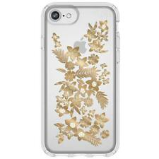 NEW SPECK PRESIDIO CLEAR + PRINT CASE FOR IPHONE 8/7/6S/6 - SHIMMER FLORAL ME...