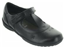 Geox J Shadow A Girls Leather Black School Shoe - 100% Positive Reviews
