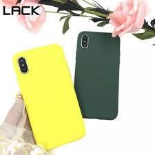 Soft Candy Color Phone Case For iPhone X 5 5S SE 6 6S 7 8 Plus Simple Back Cover