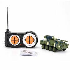 Colorful Remote Control Battle Tank Toys Land Armor Tank Model Toy for Kids DA