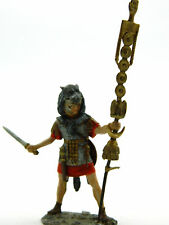 Ancient Rome — Signifer auxiliary cohorts — 54 mm Lead Figure