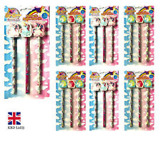 UNICORN PENCILS SET Kids Girls Birthday Gift Party Bag Filler Favors Pony Toy UK