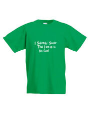 I Swear i Am fino a No Good, Harry Potter Ispirato per Bambini T-Shirt Stampata