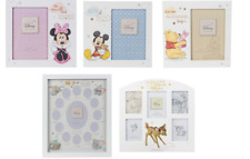 Disney Magical Beginnings Photo Frames New Baby Shower Minnie Mickey Mouse Pooh