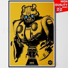 Bumblebee Movie Poster 2018 SDCC Comic Con Transformers Poster   A4 A3 A2 A1  