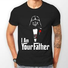 T-Shirt Inspired by Star Wars and The Godfather - Darth Vader - Fathers Day