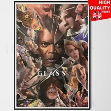 Glass Movie Poster Bruce Willis 2019 Movie SDCC Comic Con | A4 A3 A2 A1 |