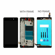TOUCH SCREEN VETRO + LCD DISPLAY + FRAME Per Huawei Ascend P8 Lite ALE-L21