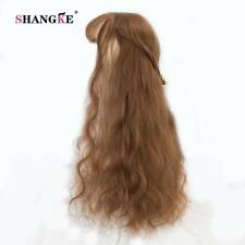SHANGKE 26'' Long Kinky Hair Wig Heat Resistant Synthetic Wigs For  Women Natura