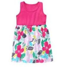 MSD Original Gymboree Pink & Colored Floral Dress