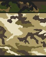 Unisex Military Camouflage Loot Bags Pack of 8 Fancy Party Decoration Accessory