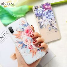 Mobile Case For iPhone 8 Plus 3D Silicone Blossoming Flowers Cover Cases Sale