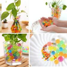 1000PCS Water Balls Crystal Pearls Jelly Gel Beads for Orbeez Toys Refill Decor~