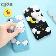 Apple Phone Case For iPhone 8 Plus Cases 3D Silicon Cartoon Cat Covers Shell
