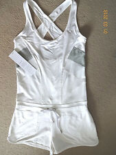 Casall Ladies size 12 tennis dress/shorts sports outfit white BNWT
