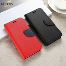 Wallet Holster Case Card Slot Flip Leather Black Cover For Samsung Galaxy S3