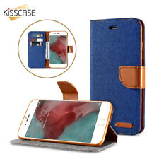Stand Wallet Flip Case For iPhone 6 6S 7 X 5S SE Color Card Flower Hard PC Cover