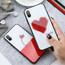 Mobile Cover HD Tempered Glass Full Coverage Case For iPhone X 10 8 7 6 6s Plus