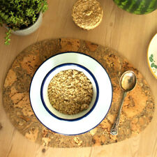 Cork Table Mats Placemats Natural Pattern Portuguese Rectangular Round Oval