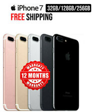 Apple iPhone 7 32GB 128GB Black Jet Black Gold Silver Rose Gold Red Unlocked