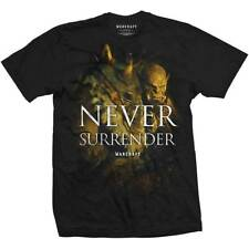 WORLD OF WARCRAFT T-Shirt 'Never Surrender' Official LICENSED MERCHANDISE
