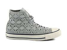 CONVERSE ALL STAR CT HI 556773C ARGENTO Sneakers alte Donna